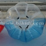 Crazy Sport! ! ! Hot Sale Half Color TPU Inflatable Human Sized Soccer Bubble Ball, Loopy Ball D5018