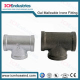 UL FM Galvanized Malleable Iron Pipe Fitting Equal Tee