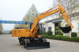 Hot Sale High Quality Wheel Excavator 125 Model Road Construction