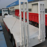 Low Bed Semi Trailer, Semi Trailer, 2/3/4 Axles 40-60t Low Bed Trailer