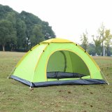 2-4 Person Camping Tent Portable Outdoor Double Door Leisure Equipment Instant Hand-Throwing Tent Waterproof