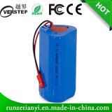 Icr/Inr18650 11.1V Li-ion/Lithium Ion 18650 Battery Pack 2600mAh for Light