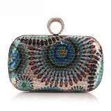 Wholesale Designer Party Bag Fashion Sequin Ring Clutch Bag