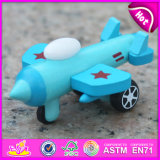 2015 New Plane Toy Wood for Children, Flying Wooden Plane Toy, Wood Kids Toy Plane Slide, Kids′ Wooden Toy Plane W04A193