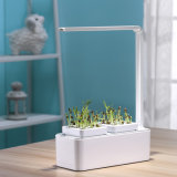 New Smart Hydroponic Planter Integrated LED Indoor Grow Light