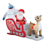 Inflatable Santa Claus Christmas Party Decoration