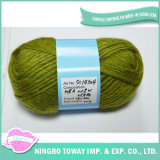 Knitting Supplies Customized Count Blend Merino Wool Acrylic Yarn