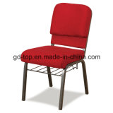 Foshan Factory Comfortable Stackable Metal Church Chairs for Chuch