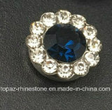 Hot Selling 9mm Crystal Rhinestone in Sewing on Strass with Claw Setting Rhinestone (TP-9mm all montana round crystal)