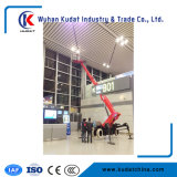 Telescopic Spider Lift with Gas and Electric Two Motor Power