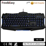 3 Colors LED Multimedia Wired Gaming Keyboard