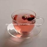 High Borosilicate Glass Cup&Saucer (NR-CS01)