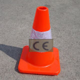 30cm Red Soft PVC Traffic Cone Flexible