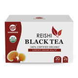Customize Organic Reishi Black Tea China Factory Supply Black Tea