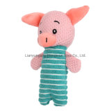 High Quality Custom Cute Pig Shape Stuffed Animals Pet Plush Squeaky Pet Toy for Dogs
