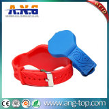 13.56MHz Ntag216 888bytes Adjustabel NFC Wristband with Locked
