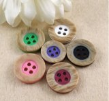 Factory Wholesale Colorful High-Grade Resin Button