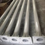 Hot-DIP Single/Double Galvanized Aluminum Steel LED Solar Street Light/Lighting Post Pole