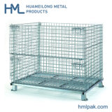 High Quality Warehouse Welded Rigid Folding Wire Mesh Container Box