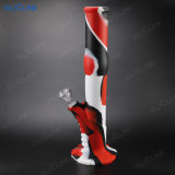 Two Different Striaght Silicone Smoking Pipes Cheap Wholesale Water Pipe