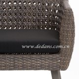 Voyage Outdoor Wicker Woven Dining Table & Dining Chair