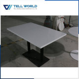Modern Solid Surface Restaurant Table Coffee Table Set
