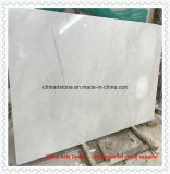 China Pure Snow White/ Jade Marble Slabs for Countertops and Tiles
