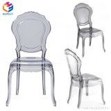 Hotel Banquet Dining Wedding Transparent Acrylic Clear Resin Belle Chair