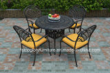 Cast Aluminum Tea Table and Chair Set Garden Furniture