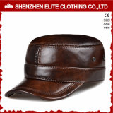 Wholesale Men Custom Made Leather Snapback Caps