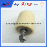 PVC Side Roller, Nylon Side Roller, HDPE Side Roller with Thread Ends