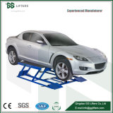 Low-Rise Movable Scissors Car Lifter for Garage Used