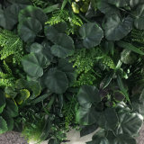 Artificial Foliage Panels Vertical Garden Green Background Wall for Wedding Shops Office Store Restaurant Hotel Yard Interior Exterior Landscaping Decor Design