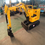 1.0 Ton New Hydraulic Bucket Crawler Mini Bagger Excavator with Cheap Factory Price