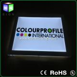 Interior Design Material For Advertising LED Light Box With Wall Mounted Acrylic