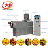Puffed Corn Rice Snack Food Extruder Making Machine
