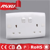 Saudi Arabia Saso 2 Gang 13A Bs Switched Socket