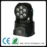 Stage Lights 4in1 LED Moving Head Wash Light, Mini LED Moving Head Light