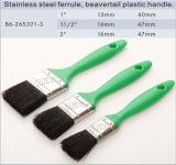 Rubber Plastic Handle Paint Brush Set