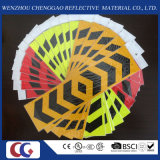Arrow Shaped Vehicles PVC Reflective Sticker