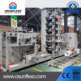 Multicolors Stack Type Flexo UV label Printing Machine with Delam/Relam and Die Cutting