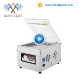 Bespacker DZ-300 Automatic stainless steel body table type economy food vacuum sealer sealing packaging packing machine