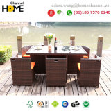 2018 New Full K/D Rattan Garden Furniture Outdoor Dining Set-Z601