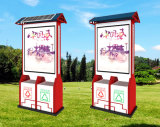Wholesale Price Advertising Sign LED Display Light Box with Dustbin