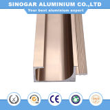 Household Furniture Decorative 6063 Aluminum Kitchen Cabinet Profile