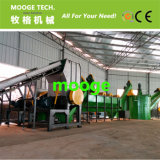 1000 kg/h Plastic PET Spring Bottle washing recycling line machine