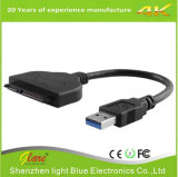 "USB 3.0 to 2.5"" SATA 22 Pin HDD SSD Adapter Converter"