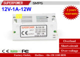 LED Driver 12V 1A 12W Switching Power Supply for LED Lighting