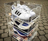 Brand New Clear Acrylic Sneaker Shoe Box