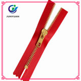 Shiny Golden Metal Zipper with The Most Competitive Price